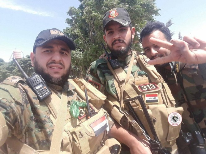 Nga yểm trợ, quân Assad đánh rát IS tại tử địa nam Damasscus ảnh 4