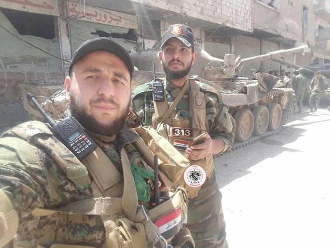 Nga yểm trợ, quân Assad đánh rát IS tại tử địa nam Damasscus ảnh 5