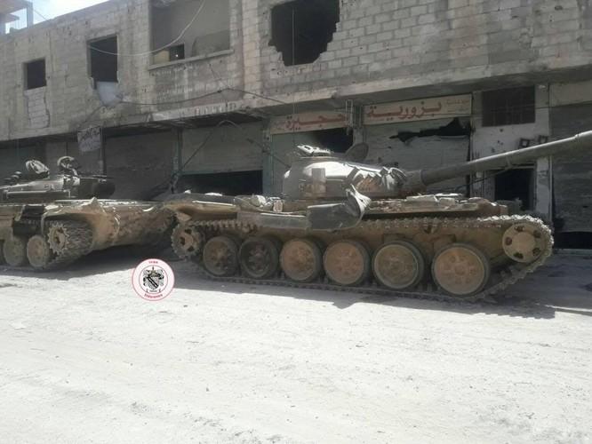Nga yểm trợ, quân Assad đánh rát IS tại tử địa nam Damasscus ảnh 6