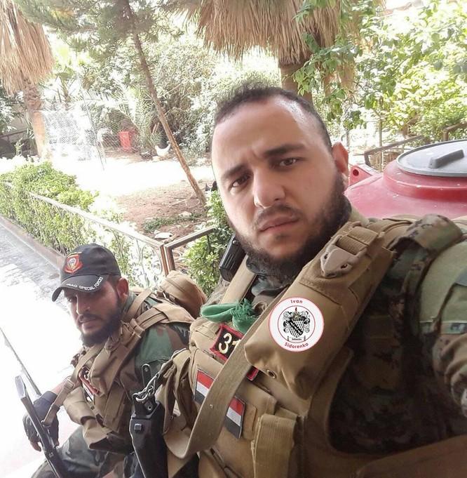 Nga yểm trợ, quân Assad đánh rát IS tại tử địa nam Damasscus ảnh 8