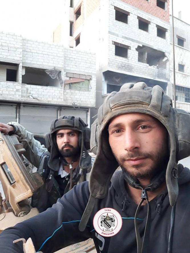 Nga yểm trợ, quân Assad đánh rát IS tại tử địa nam Damasscus ảnh 13