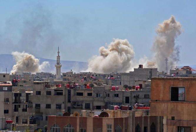 Cuộc chiến tàn khốc trong tử địa nam Damascus, Syria ảnh 2