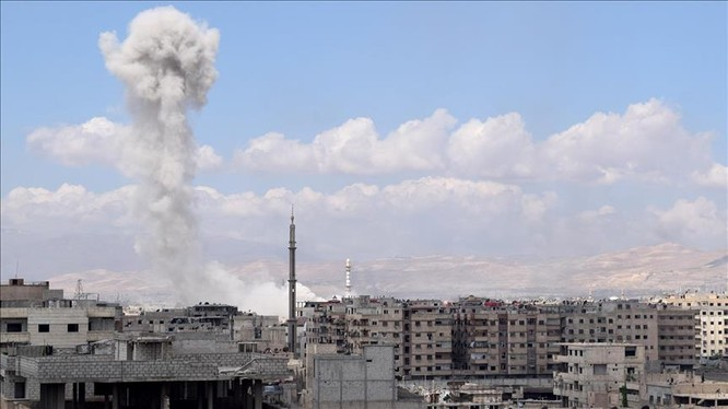 Cuộc chiến tàn khốc trong tử địa nam Damascus, Syria ảnh 3