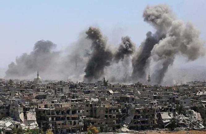 Cuộc chiến tàn khốc trong tử địa nam Damascus, Syria ảnh 4
