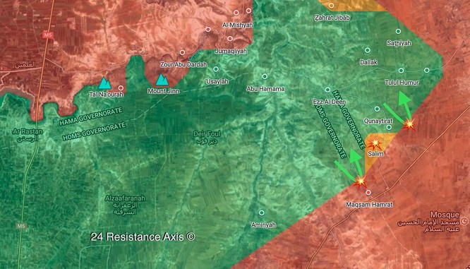 Quân tình nguyện Syria đè bẹp thánh chiến, chiếm cứ địa địch ở Hama ảnh 1