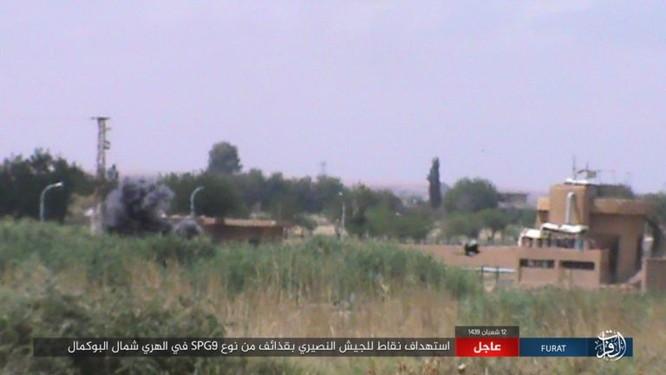 IS bất ngờ tấn công quân đội Syria trên sa mạc Deir Ezzor ảnh 6