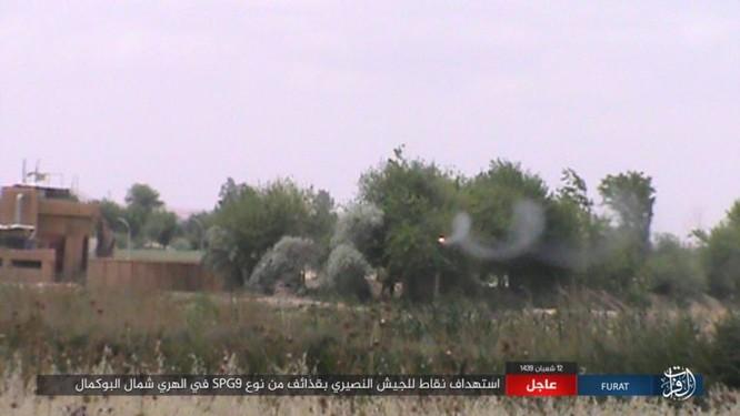 IS bất ngờ tấn công quân đội Syria trên sa mạc Deir Ezzor ảnh 7