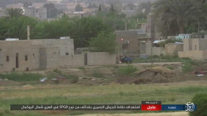 IS bất ngờ tấn công quân đội Syria trên sa mạc Deir Ezzor ảnh 8
