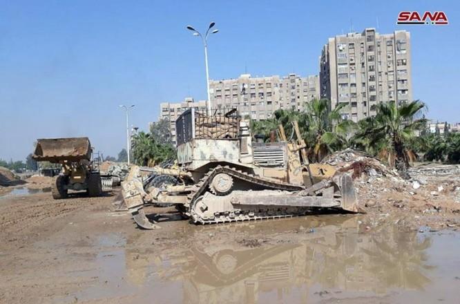 Phe thánh chiến xin hàng, quân đội Syria đánh rát IS tại tử địa Yarmouk ảnh 4