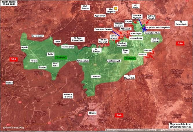 """""""Hổ Syria"""" đe khai hỏa, quân thánh chiến ở Homs lập tức xin hàng ảnh 1"""
