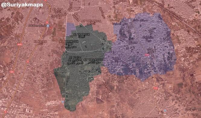 Quân đội Syria giáng đòn chí mạng IS, di tản phe thánh chiến đầu hàng khỏi tỉnh Damascus ảnh 2