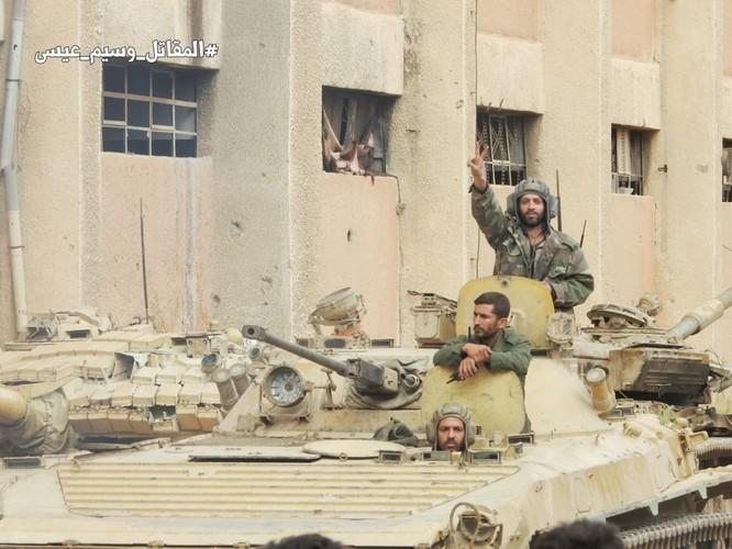 Quân đội Syria giáng đòn chí mạng IS, di tản phe thánh chiến đầu hàng khỏi tỉnh Damascus ảnh 14