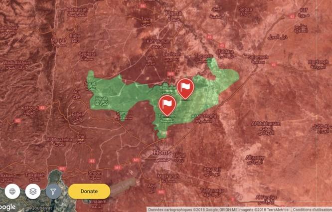 """""""Hổ Syria"""" ra uy, quân thánh chiến cố thủ Rastan vội hạ vũ khí quy hàng ảnh 1"""