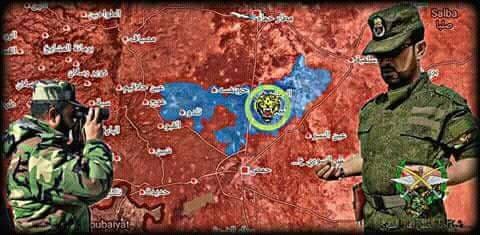 """""""Hổ Syria"""" ra uy, quân thánh chiến cố thủ Rastan vội hạ vũ khí quy hàng ảnh 2"""