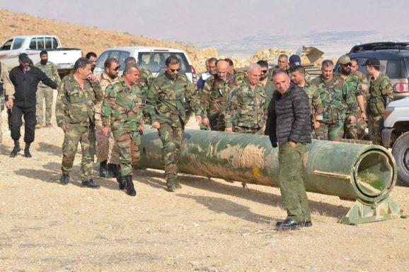 Quân đội Syria chiếm giữ kho vũ khí khủng và tên lửa đạn đạo của phe thánh chiến ở Qalamoun ảnh 2