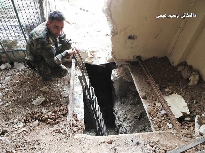 Quân đội Syria tấn công dữ dội trả thù IS sau vụ hành quyết dã man ảnh 1