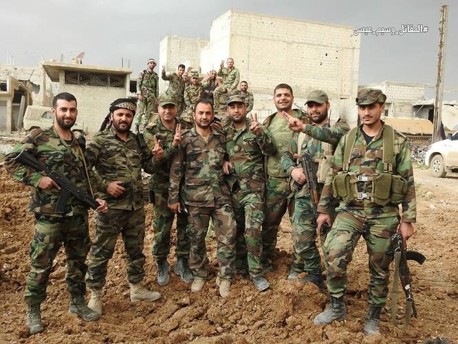 Quân đội Syria tấn công dữ dội trả thù IS sau vụ hành quyết dã man ảnh 4