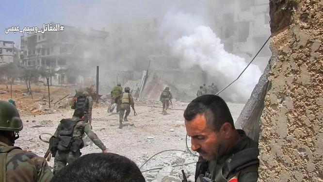 Quân đội Syria tấn công dữ dội trả thù IS sau vụ hành quyết dã man ảnh 6