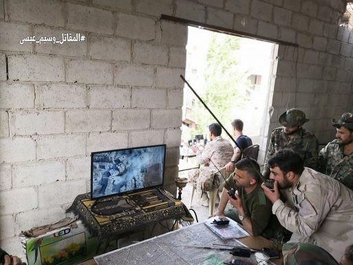 Nga dội lửa, quân đội Syria hợp vây chia cắt IS trong nồi hầm nam Damascus ảnh 3