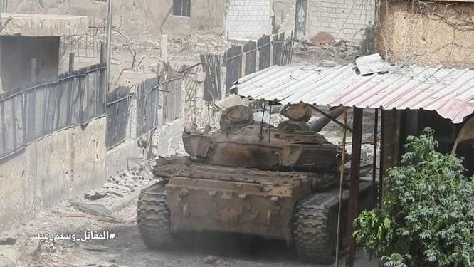 Nga dội lửa, quân đội Syria hợp vây chia cắt IS trong nồi hầm nam Damascus ảnh 7
