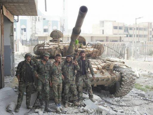 Nga dội lửa, quân đội Syria hợp vây chia cắt IS trong nồi hầm nam Damascus ảnh 8