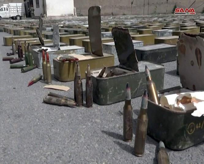 Quân đội Syria chiếm giữ lượng lớn vũ khí Israel ở Rastan, Homs ảnh 3