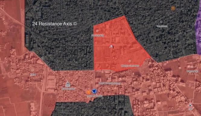 Quân tinh nhuệ Syria đánh tràn vào chảo lửa Yarmouk, chiếm nhiều cứ địa chiến lược từ IS ảnh 1
