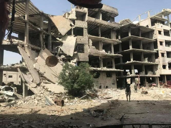 Quân đội Syria đè bẹp IS, sắp kết liễu trong chảo lửa Yarmouk ảnh 7