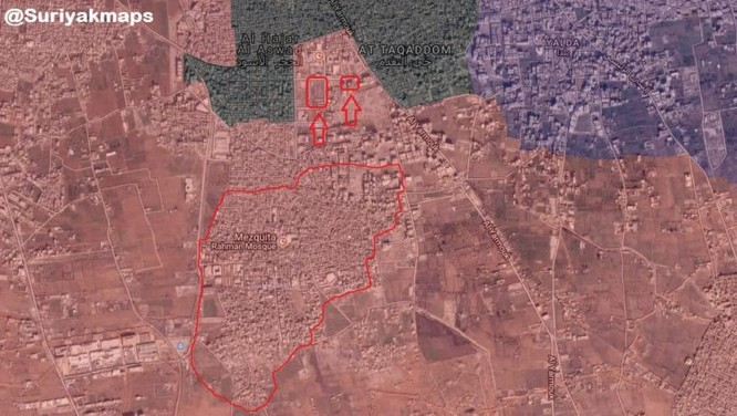Dội hỏa lực kinh hoàng, quân đội Syria quyết diệt sạch IS trong tử địa Yarmouk ảnh 1