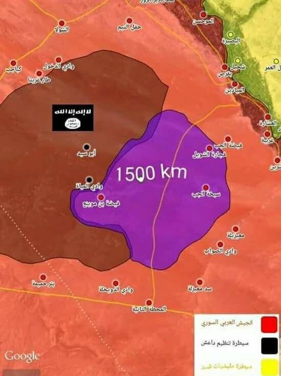 Nga yểm trợ quân Assad đè bẹp IS, chiếm 1.500 km2 sa mạc Deir Ezzor ảnh 1