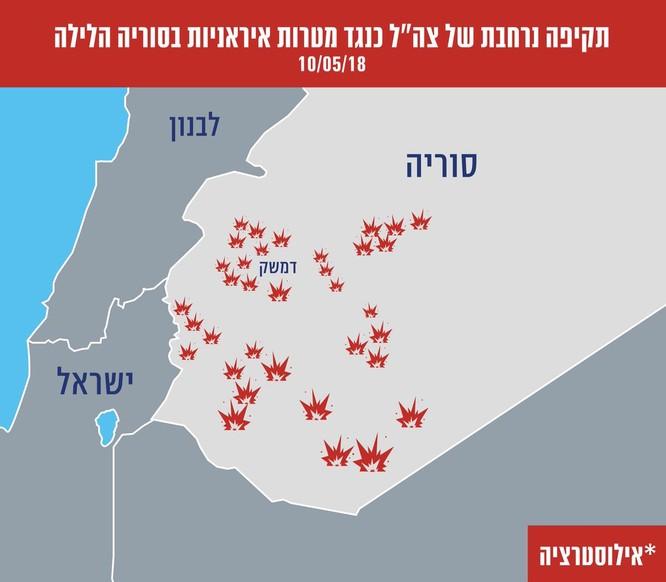 Israel-Syria đấu tên lửa, cao nguyên Golan bùng phát xung đột ảnh 4