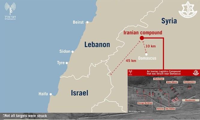 Israel ồ ạt tập kích tên lửa Syria: Ai là kẻ giấu mặt? ảnh 4