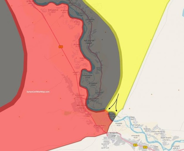 Người Kurd chiếm nhiều địa bàn của IS trong tỉnh Deir Ezzor ảnh 1