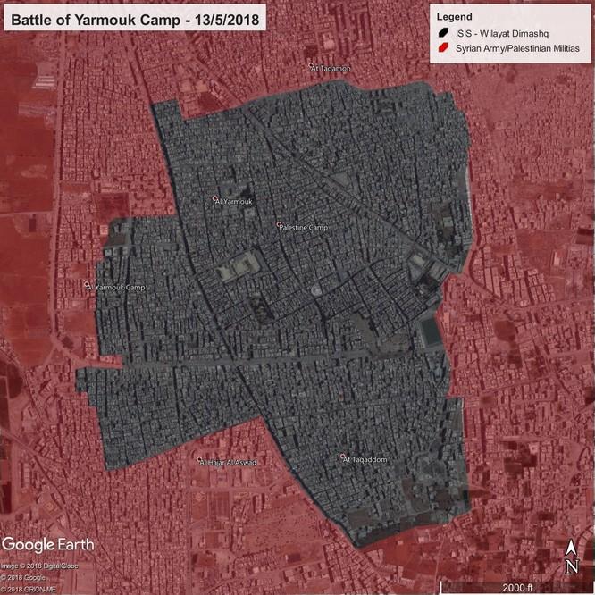 Quân đội Syria diệt hàng loạt tay súng IS, trận tử chiến Yarmouk vào giai đoạn quyết định ảnh 1