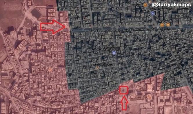 Quân đội Syria đánh bật IS phản kích tại tử địa Yarmouk ảnh 1