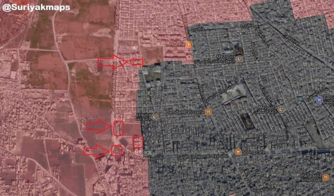 Quân đội Syria đánh bật IS phản kích tại tử địa Yarmouk ảnh 2