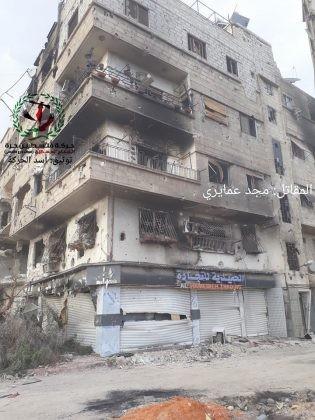 Quân tinh nhuệ Syria nghiền nát IS, đoạt thêm cứ địa khủng bố tại Yarmouk ảnh 5