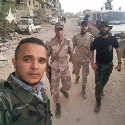 Quân tinh nhuệ Syria nghiền nát IS, đoạt thêm cứ địa khủng bố tại Yarmouk ảnh 9