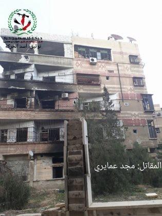 Quân tinh nhuệ Syria nghiền nát IS, đoạt thêm cứ địa khủng bố tại Yarmouk ảnh 10