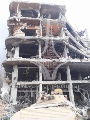Quân tinh nhuệ Syria nghiền nát IS, đoạt thêm cứ địa khủng bố tại Yarmouk ảnh 12