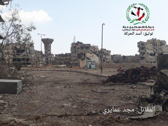 Quân tinh nhuệ Syria nghiền nát IS, đoạt thêm cứ địa khủng bố tại Yarmouk ảnh 13