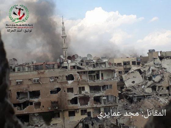 Quân tinh nhuệ Syria nghiền nát IS, đoạt thêm cứ địa khủng bố tại Yarmouk ảnh 14