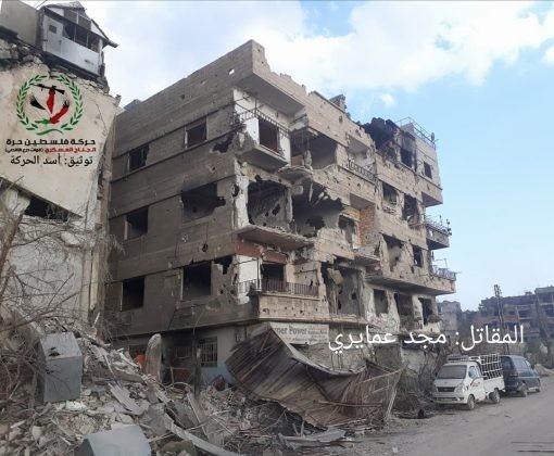 Quân tinh nhuệ Syria nghiền nát IS, đoạt thêm cứ địa khủng bố tại Yarmouk ảnh 4