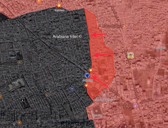 Quân đội Syria đập tan IS phản kích, sắp kết liễu phiến quân tại tử địa Yarmouk ảnh 1