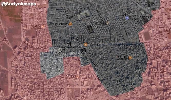 Quân đội Syria đập tan IS phản kích, sắp kết liễu phiến quân tại tử địa Yarmouk ảnh 2