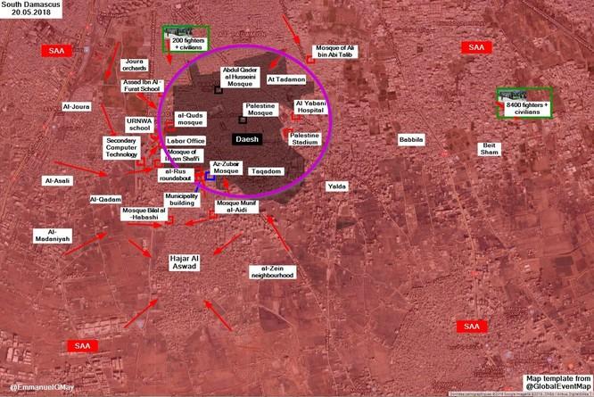 IS khẩn cấp xin hàng quân đội Syria để tránh bị tiêu diệt sạch ảnh 1
