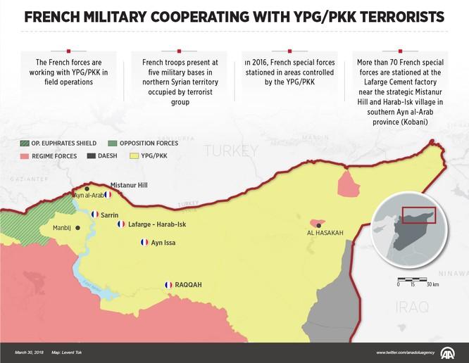 Xé nát Syria, Pháp lập hàng loạt căn cứ thế chân quân Mỹ ảnh 1
