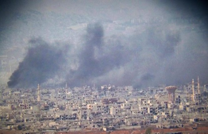 Hàng ngàn chiến binh IS vội vàng tháo chạy khỏi tử địa Yarmouk-Syria để tránh bị trả thù ảnh 1
