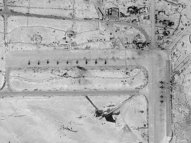Không quân Nga xuất kích diệt địch từ sân bay bị Israel tập kích ảnh 1