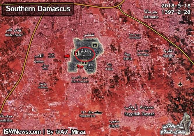 Nga yểm trợ Syria thắng lớn tại nam Damascus sẽ biến đổi tình hình Trung Đông ảnh 1